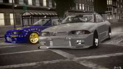 Nissan Skyline R32 FST Drift Korch для GTA 4