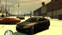 Ford Taurus Police Interceptor Stealth для GTA 4
