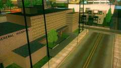 Новые текстуры All Saints General Hospital для GTA San Andreas