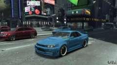 Nissan Skyline GT-R34 Nismo для GTA 4