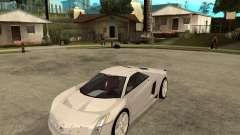 Cadillac Cien белый для GTA San Andreas