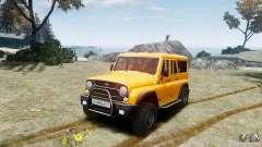 УАЗ-3159 (Барс) для GTA 4