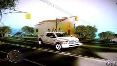 Dodge Ram белый для GTA San Andreas