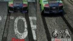 Новые текстуры следов и ударов для GTA 4