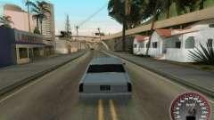 Новый спидометр для GTA San Andreas