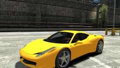 Ferrari 458 Italia 2010 v3.0 для GTA 4