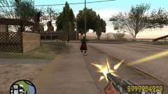 Вид как в Counter Strike для GTA San Andreas