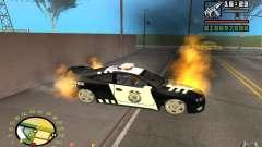 Горение авто как в GTA 4