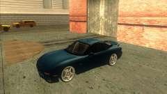 Mazda RX 7 бирюзовый для GTA San Andreas