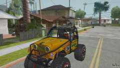 Jeep CJ-7 4X4 для GTA San Andreas