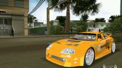 Toyota Supra для GTA Vice City