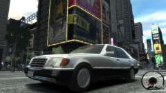 Mercedes-Benz 600SEL wheel2 tinted для GTA 4