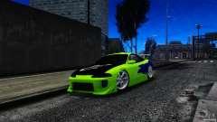 Mitsubishi Eclipse GSX FnF для GTA 4