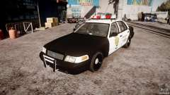 Ford Crown Victoria Raccoon City Police Car для GTA 4