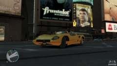 Ferrari P7 олива для GTA 4