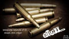 Weapons sounds v1.0 для GTA San Andreas