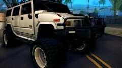 Hummer H2 Monster 4x4 для GTA San Andreas