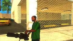 M134 minigun для GTA San Andreas