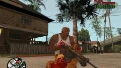 BulletStorm M4 для GTA San Andreas