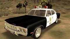 AMC Matador SA Police 1971 Final для GTA San Andreas