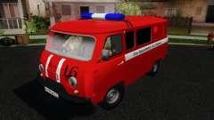 УАЗ-3909 Пожарная служба