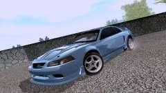 Ford Mustang SVT Cobra 2003 White wheels