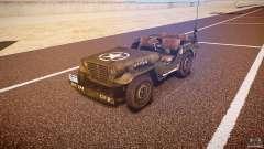Walter Military (Willys MB 44) v1.0 для GTA 4