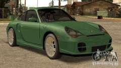 Porsche 911 GT2 серебристый для GTA San Andreas