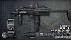 [Point Blank] MP7 для GTA San Andreas