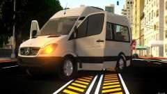 Mercedes-Benz Sprinter Passenger для GTA 4