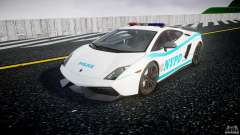 Lamborghini Gallardo LP570-4 Superleggera 2011 NYPD для GTA 4