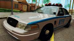 Ford Crown Victoria 2003 NYPD White для GTA San Andreas