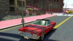 Buick Riviera 1972 Boattail для GTA 4