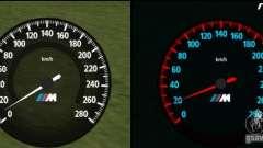 Новый спидометр BMW