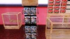 Диски с GTA в магазине Зеро