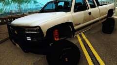 Chevrolet Silverado 2500HD 2001 для GTA San Andreas