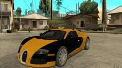 Bugatti Veyron v1.0 для GTA San Andreas