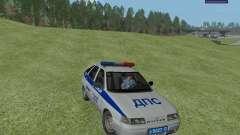 ВАЗ 2112 ДПС Полиция для GTA San Andreas