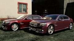 Меню и экраны загрузки BMW HAMANN в GTA 4
