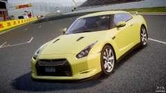 Nissan GT-R R35 2010 v1.3 для GTA 4