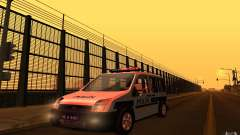 Ford Transit Connect Turkish Police для GTA San Andreas