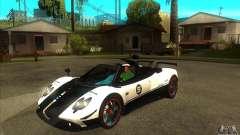 Pagani Zonda Cinque Roadster для GTA San Andreas