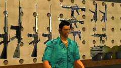 Tommy Vercetti в AMMU-NATION