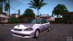 Honda Civic Tuneable для GTA San Andreas