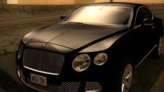 Bentley Continental GT 2011 для GTA San Andreas