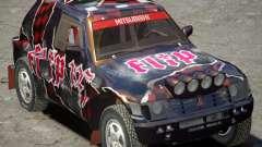 Mitsubishi Pajero Proto Dakar Винил 3 для GTA 4
