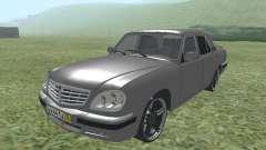 ГАЗ 31105 Волга серебристый для GTA San Andreas