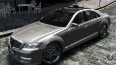 Mercedes Benz S63 Amg для GTA 4