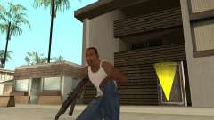 AK-47 HD для GTA San Andreas