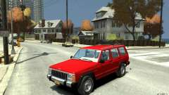 Jeep Cherokee 1984 для GTA 4